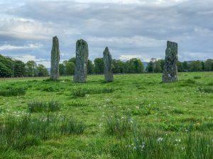 Nether Largie Standing Stone - Kilmartin Valley Scotland