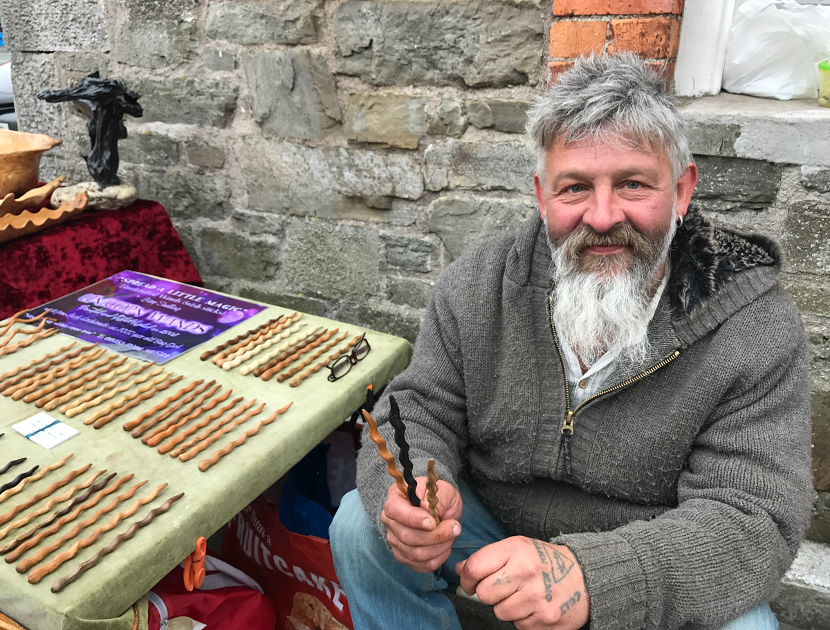 Gary Snelling - Unicorn Wand Carver - County Cork