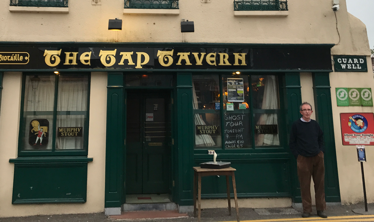 Tap Tavern in Kinsale with Proprietor, Brian O'Neill