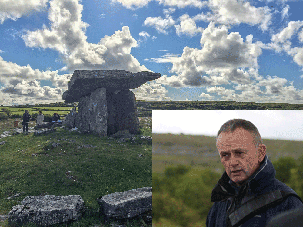 Tony Kirby offers Heart of Burren Walks